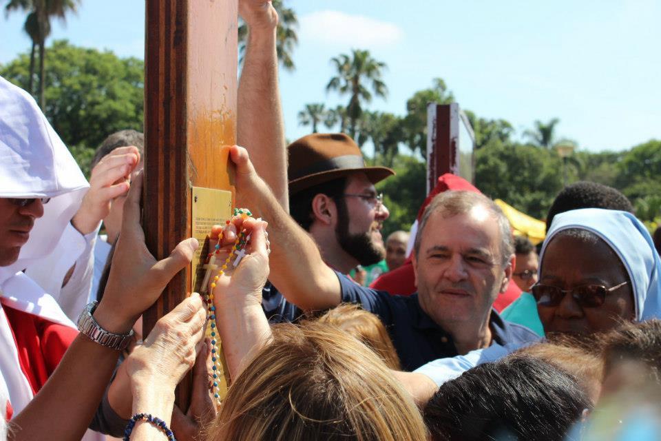 A Cruz e o Ícone já passaram pela capital gaúcha entre 3 e 5 de novembro. Foto: Arquidiocese de Porto Alegre