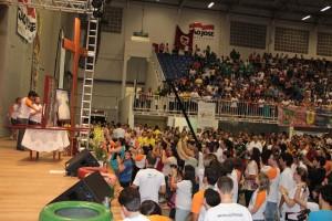 Mais de 3 mil jovens participam do Bote Fé Floripa