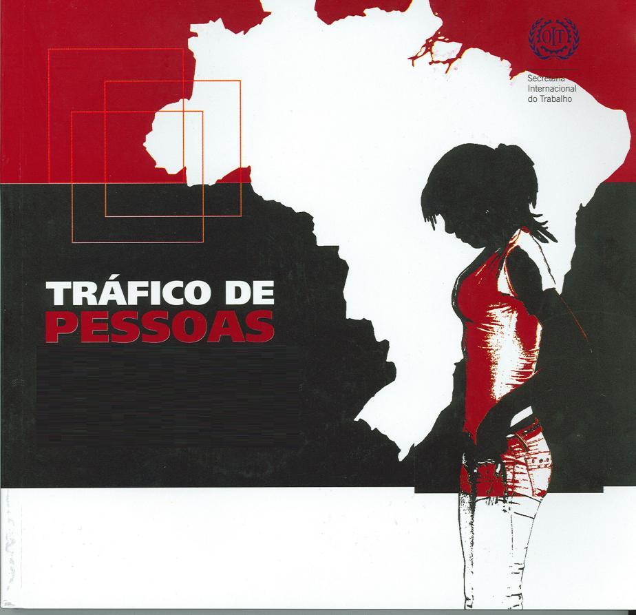 Cartaz da OIT sobre o tráfico de pessoas