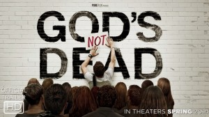"""Cartaz do Filme """"Deus não está morto"""""""