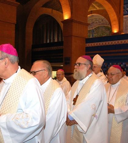 Celebração com os bispos da CNBB Regional Sul 1, no Santuário de Aparecida (Foto: Francisco Isaias) Ferreira