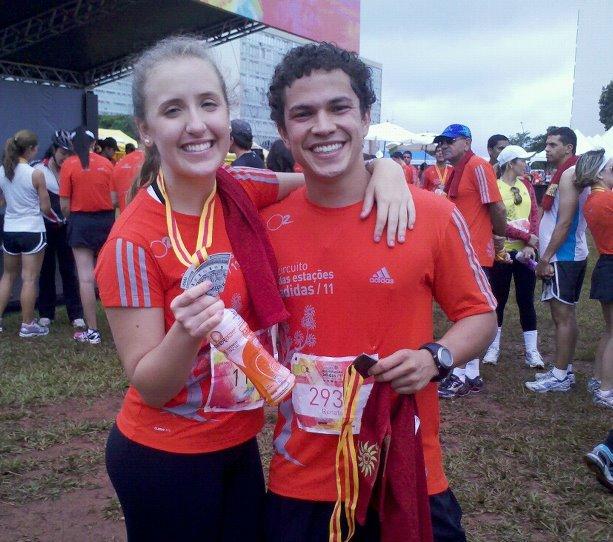 Carol e Renato: Parceria no amor e no esporte