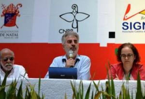 O Jornalista Elson Faxina é conferencista no Seminário de Jovens Comunicadores