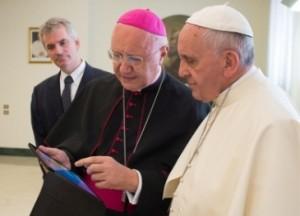 Papa conhece o 'The Pope App'