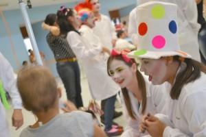 Voluntariado dos jovens nos hospitais