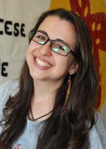 Aline Ogliari - Secretaria Nacional da Pastoral da Juventude