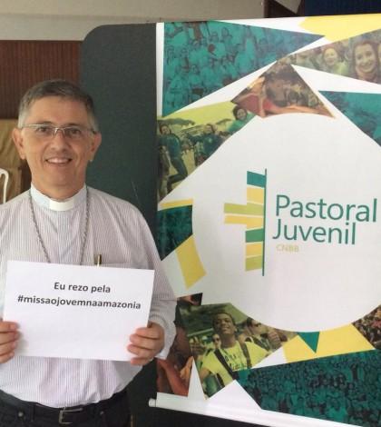 Presidente da Comissão para a Juventude, da CNBB, Dom Eduardo Pinheiro, participa de campanha em oração à Missão na Amazônia