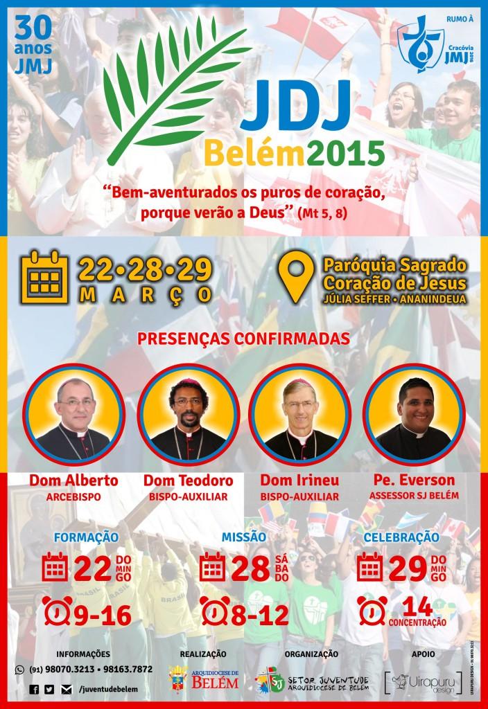 Cartaz JDJ Belém2015