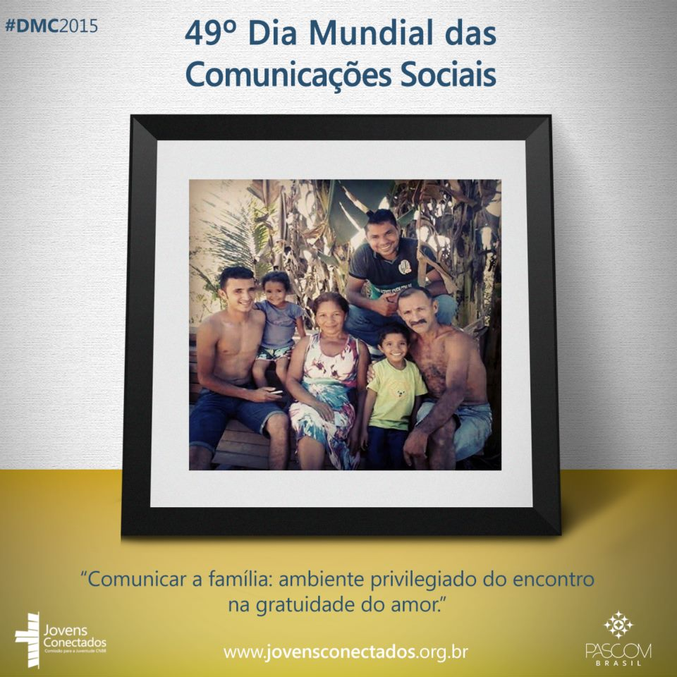 Família da Elida Santos de Marabá – PA. Foto enviada pelo Facebook dos Jovens Conectados.