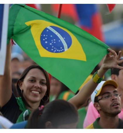 É grande a procura por informações para a próxima JMJ por parte dos brasileiros - AFP