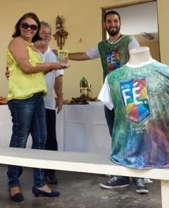 Camisas oficiais do 3º Bote Fé Olinda e Recife são vendidas para ajudar nos custos