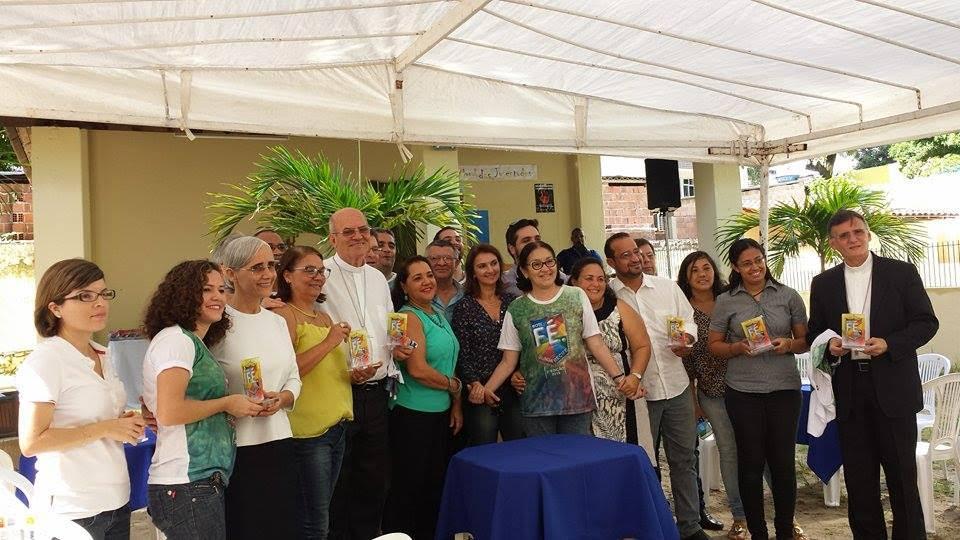 Pré-lançamento do Bote Fé Olinda e Recife na Casa da Juventude Padre Antônio Henrique, no bairro das Graças, Zona Norte do Recife