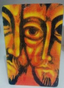 Ícone da Amizade, face de Davi e Jônatas