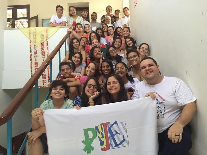 Participantes do Encontrão da PJE no Nordeste
