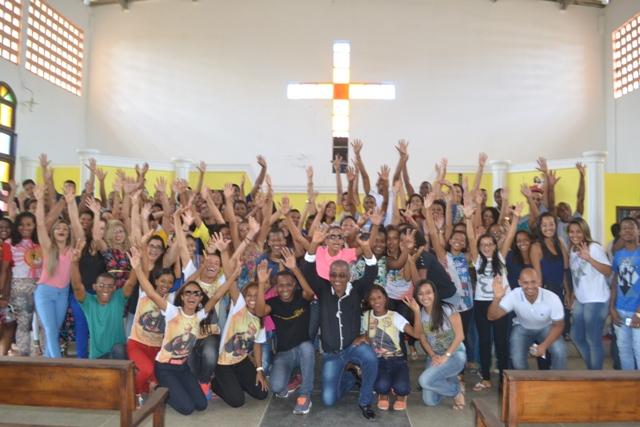 Jornada reuniu jovens de várias cidades próximas, como Candeias (BA)