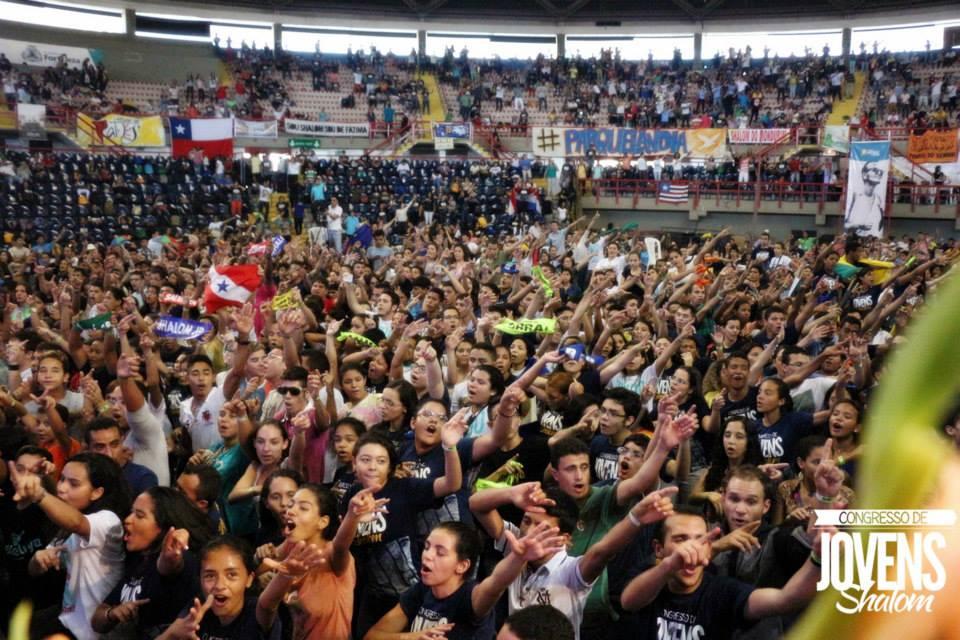 Em 2014, mais de nove mil jovens de várias nações participaram do evento em Fortaleza