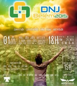 Cartaz DNJ Belém2015 (1)