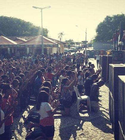 Mais de quatro mil pessoas compareceram para participar do Dia Nacional da Juventude em Prado