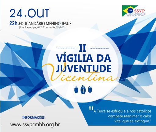 Depois do sucesso da primeira, a Comissão de Jovens do Conselho Metropolitano de Belo Horizonte se prepara para a segunda edição da Vigília.