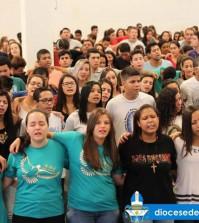Jovens dão um show de fé e caridade no DNJ da diocese de Franca