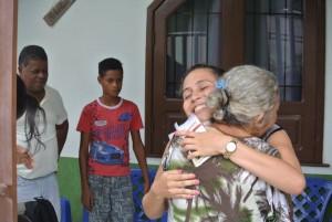 Visita missionária dos jovens. Foto: Setor Diocesano de Juventude.