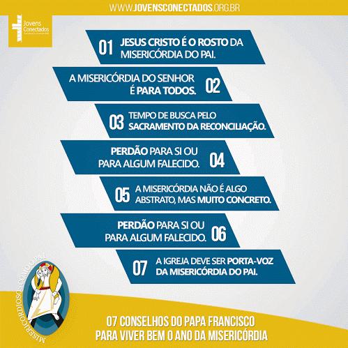 7 conselhos do Papa para viver bem o Ano da Misericórdia